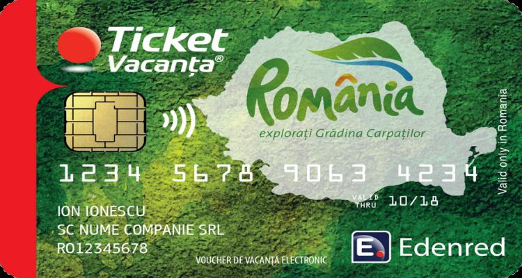 CARD Tichete de vacanță