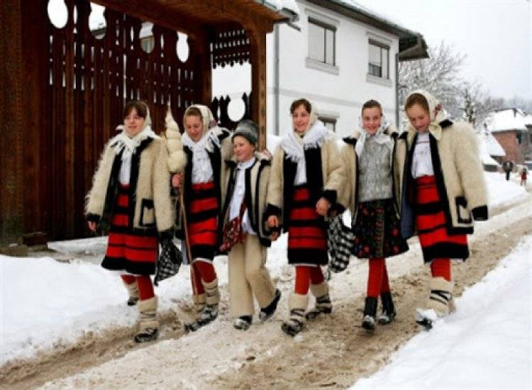 BORȘA - Crăciun în Maramureș